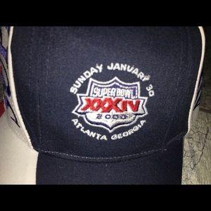 5b4a68d5 New! Super Bowl 34 Hat Titans Rams SnapBack NWT